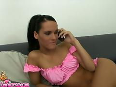 Pinky babe Jennifer Dark is rocking in the POV