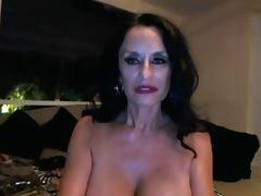 Big Boobs Sexy Granny Toying