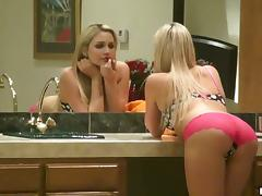 Thin Blonde Babe Mia Malkova Rubs Her Cunt And Wait For Cock