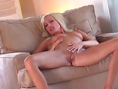 MILF Diana Doll fucks her lovely puss
