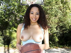 Black Hottie With Big Natural Tits