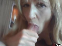 Tiny Milf Gives The Best Blowjob Ever