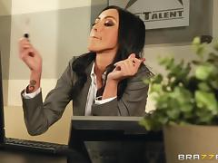 Gorgeous milf Breanne Benson wearing stockings gets amazingly fucked