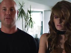 Pornstar Faye Reagan gets fucked roughly and loves it