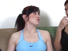 Licking sweaty armpits