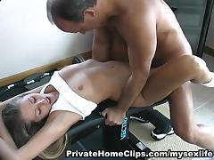 MySexLife Movie Scene: FUCKING WORKOUT